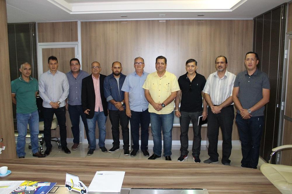 Vice-governador visita a sede do Detran/AC