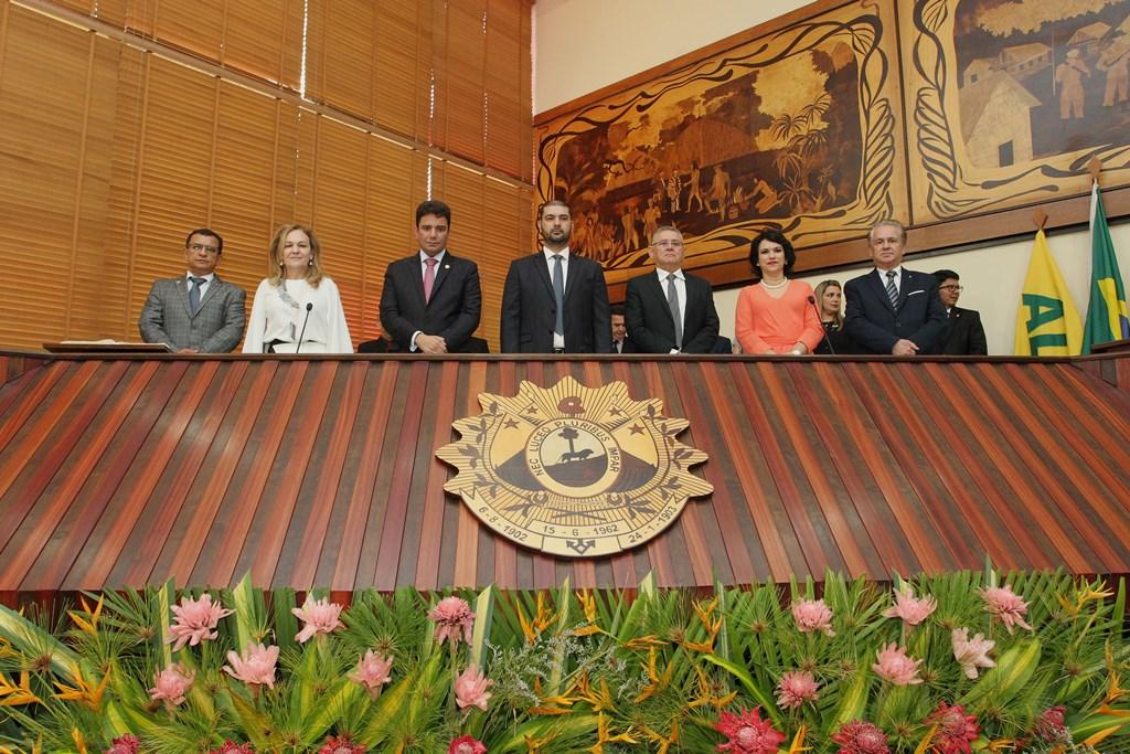 Na Assembleia, Gladson reafirma foco no desenvolvimento econômico do Acre