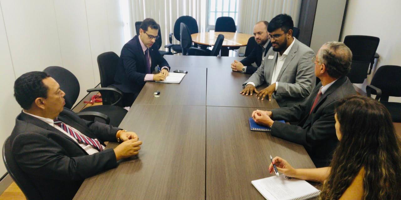 Secretário de Planejamento do Acre reúne-se em Brasília com equipe do Ministério da Economia