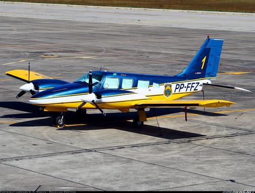 Avião doado pela PRF ao Governo do Estado será usado para o transporte de agentes em missões de segurança