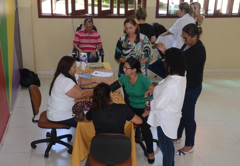 Educação oferece serviços de Saúde aos servidores