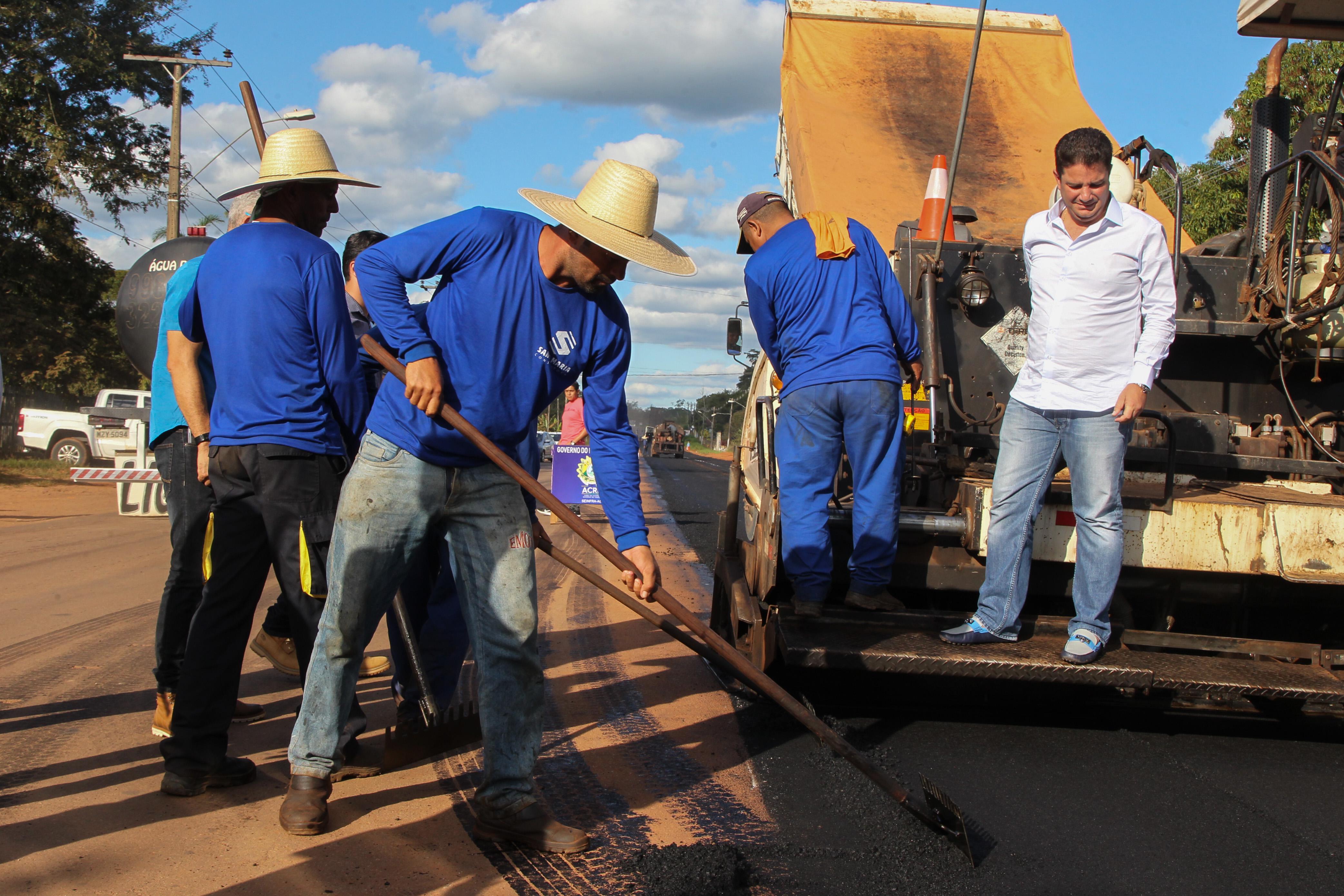 Obras emergenciais em pontos críticos serão concluídas em 15 dias