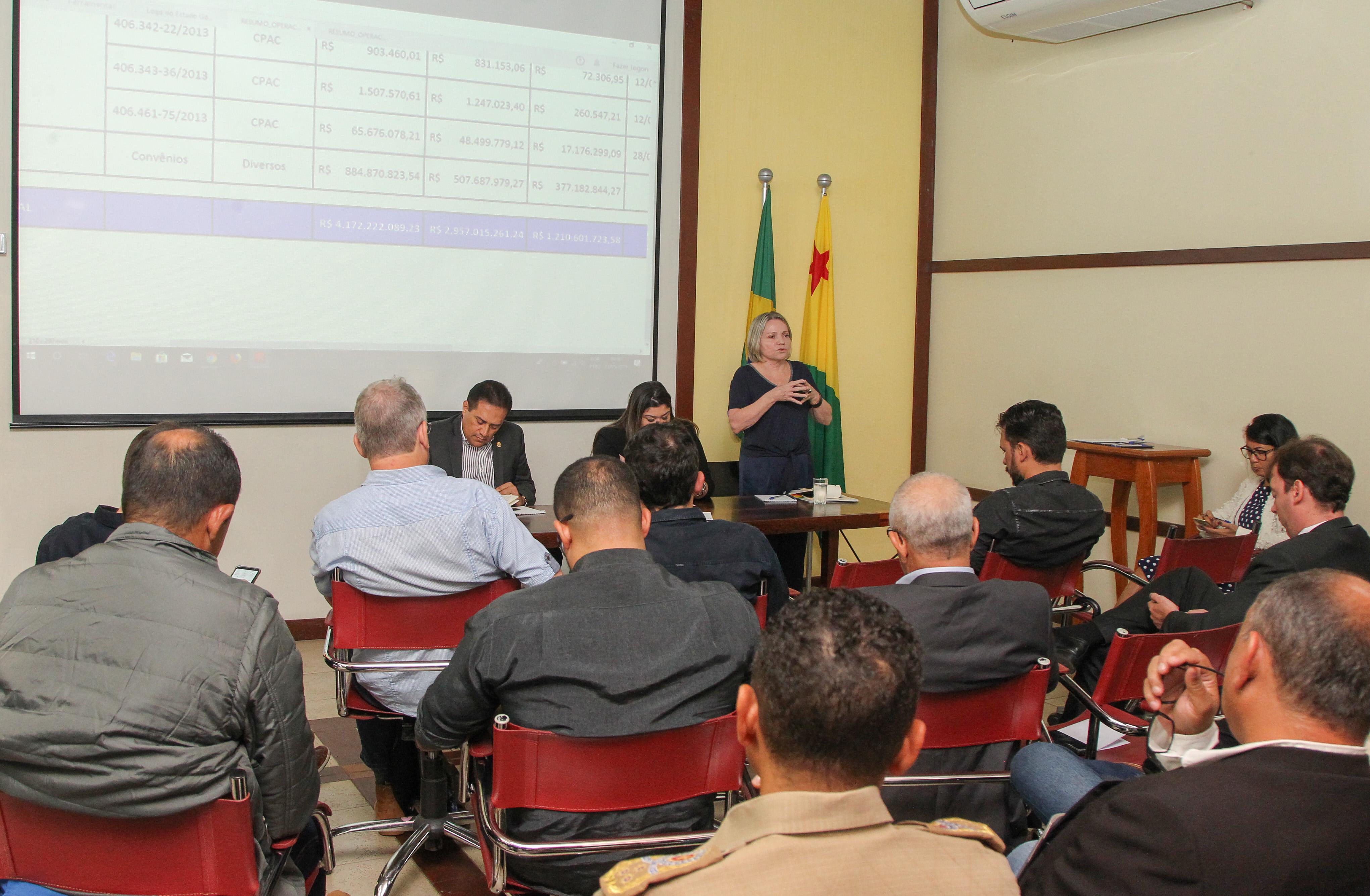 Gladson reúne secretários para avaliar gestão e discutir novas metas de Governo