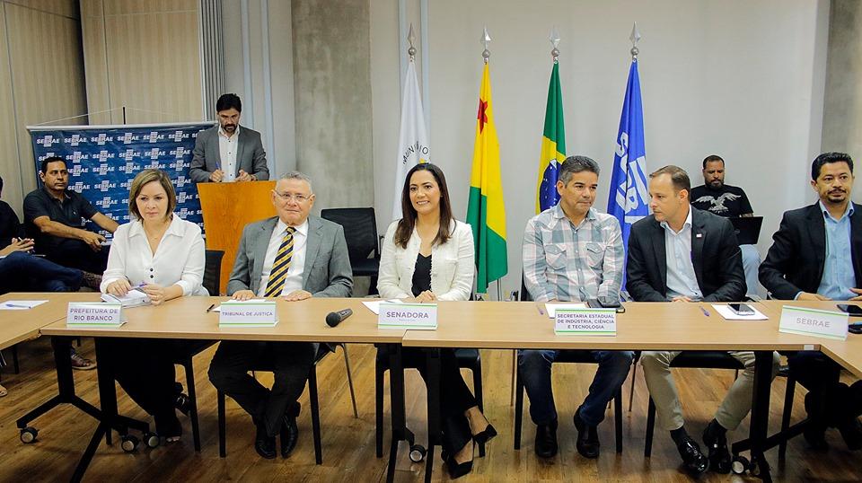 Autoridades se reúnem para discutir implantação de Parque Tecnológico no Acre