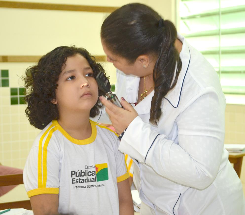 Educação promove programa de saúde para atender os estudantes