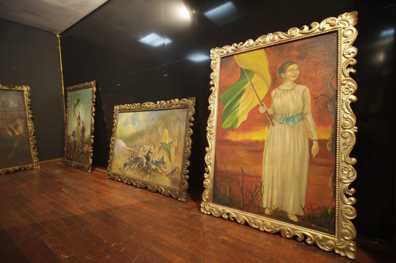 FEM realiza exposição Memórias da Revolução Acreana com obras do artista plástico Jorge Rivasplata