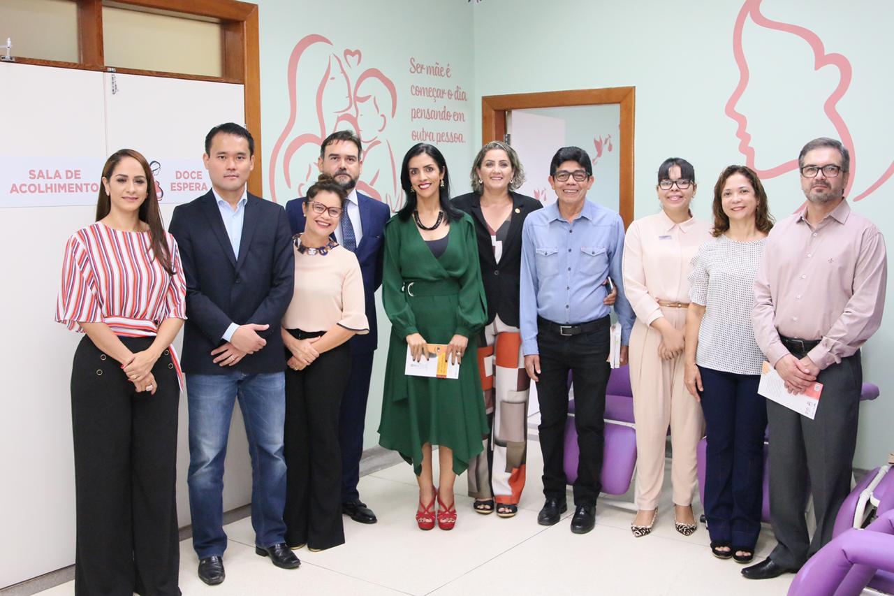 Governo do Estado participa do lançamento da Cartilha de Direitos das Mulheres no Parto