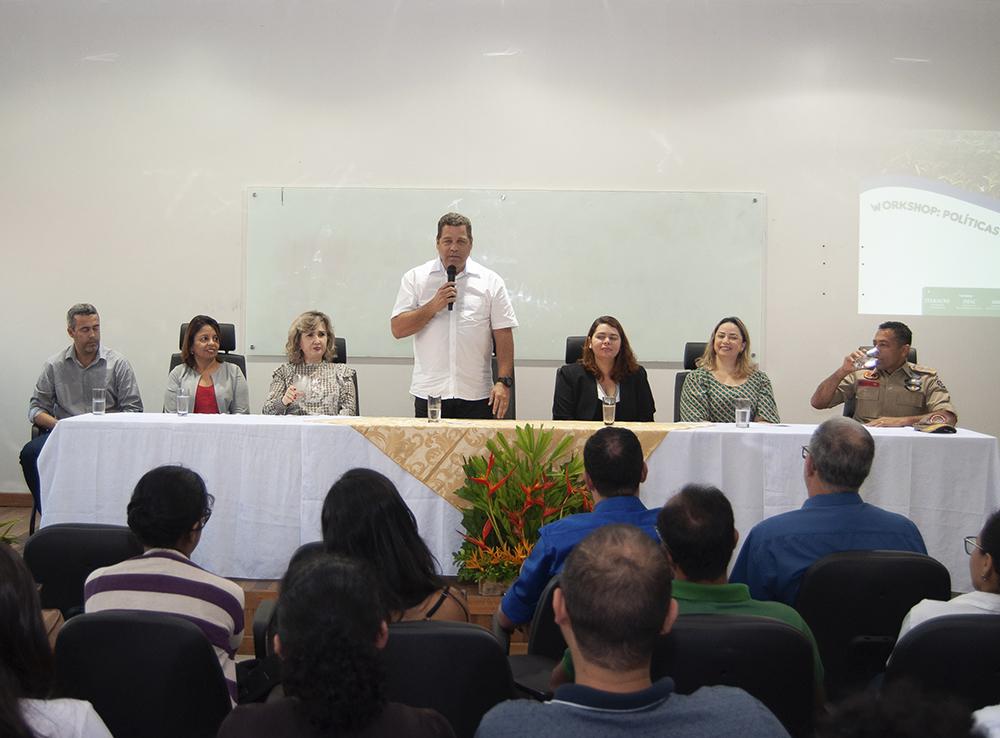 Representantes do Sistema Estadual de Meio Ambiente se reúnem em Rio Branco