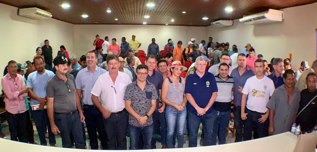 Governo participa de debate sobre o potencial da criação de suínos em Acrelândia
