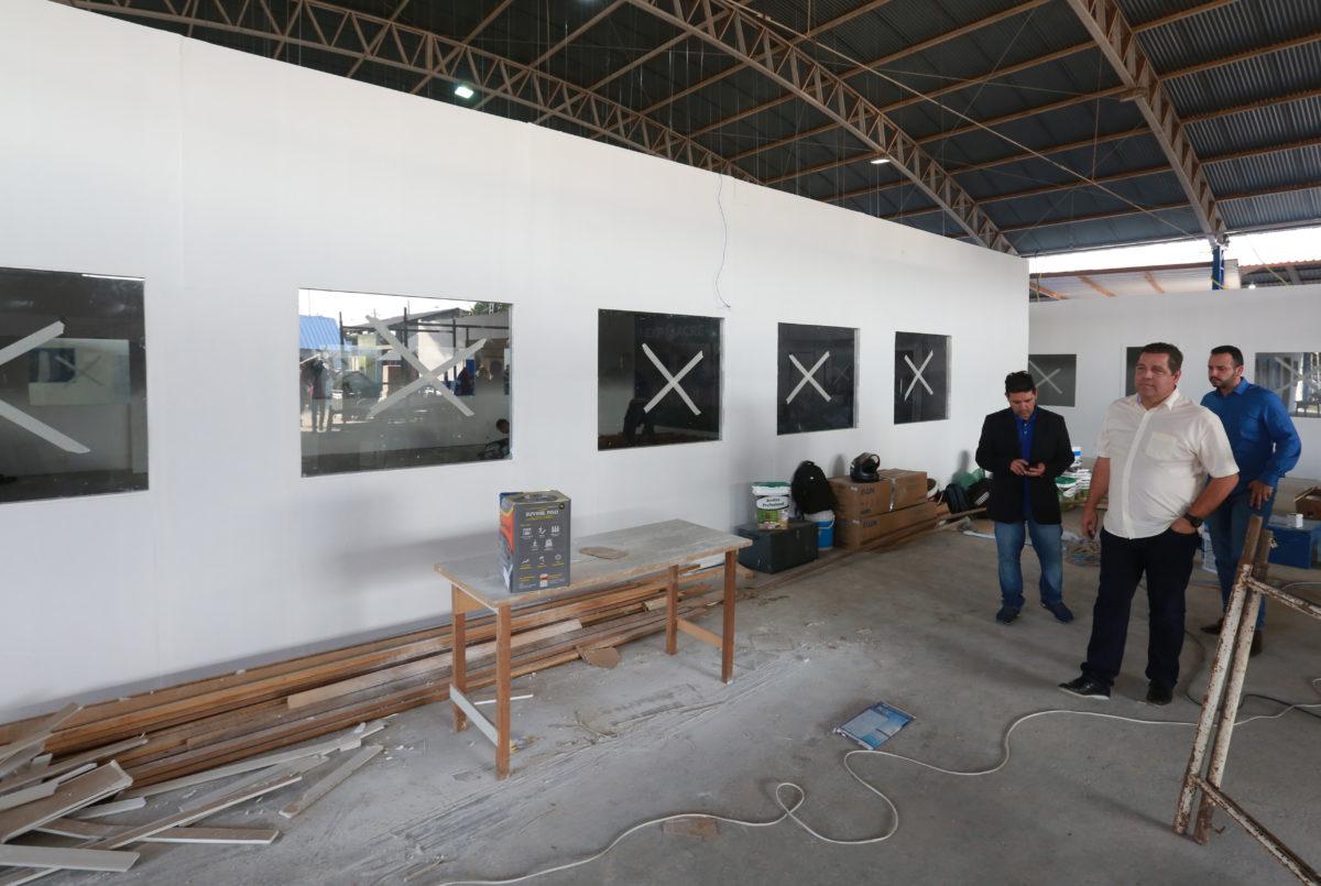 Major Rocha acompanha últimos preparativos para a Expoacre 2019