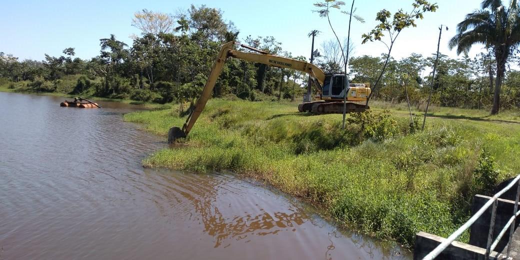 Depasa realiza limpeza do reservatório da Estação de Tratamento de Água do Bujari