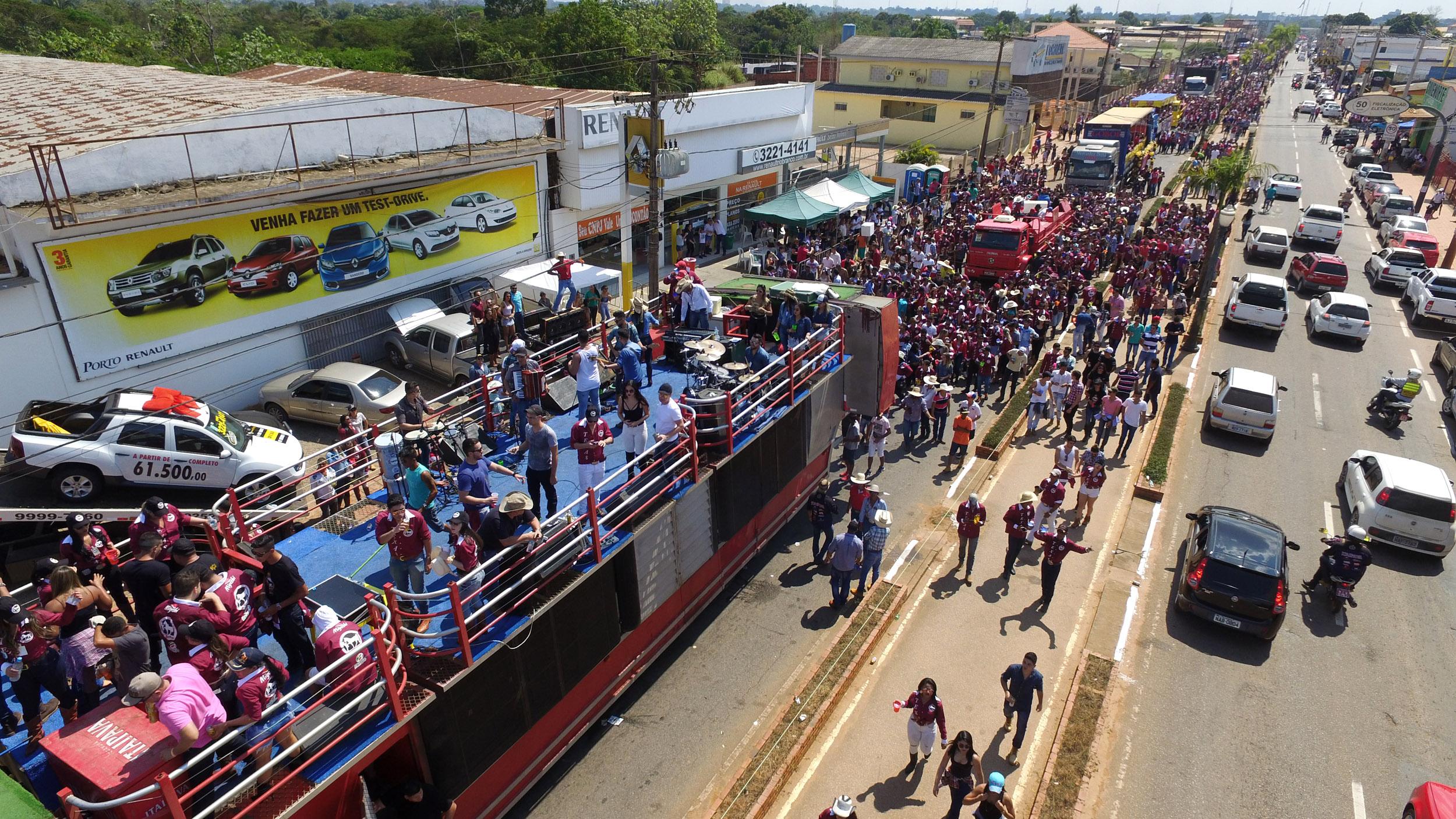 Solenidade e Cavalgada abrem oficialmente a Expoacre 2019