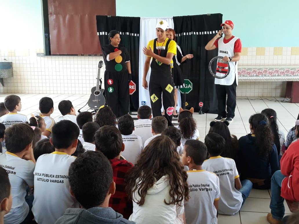 Detran Acre promove atividades educativas em Brasileia
