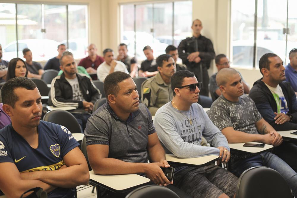 Segurança apresenta efetivo que vai atuar no Grupamento Especializado em Fronteiras