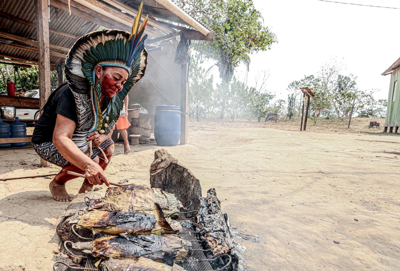 Estado participa da apresentação do Projeto Sabores e Saberes das Mulheres Indígenas