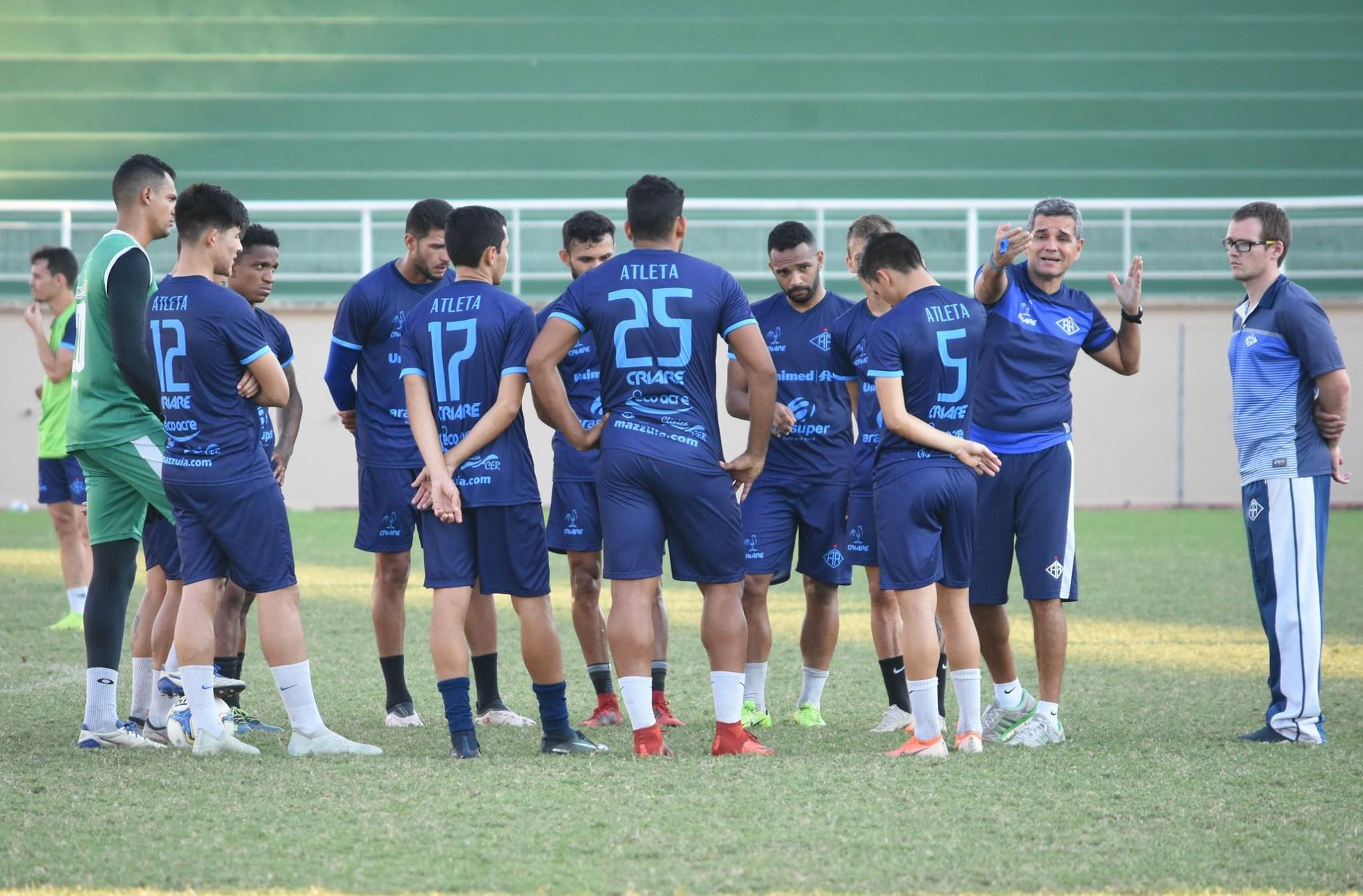 Atlético Acreano recebe o Remo nesta terça-feira pela Copa Verde