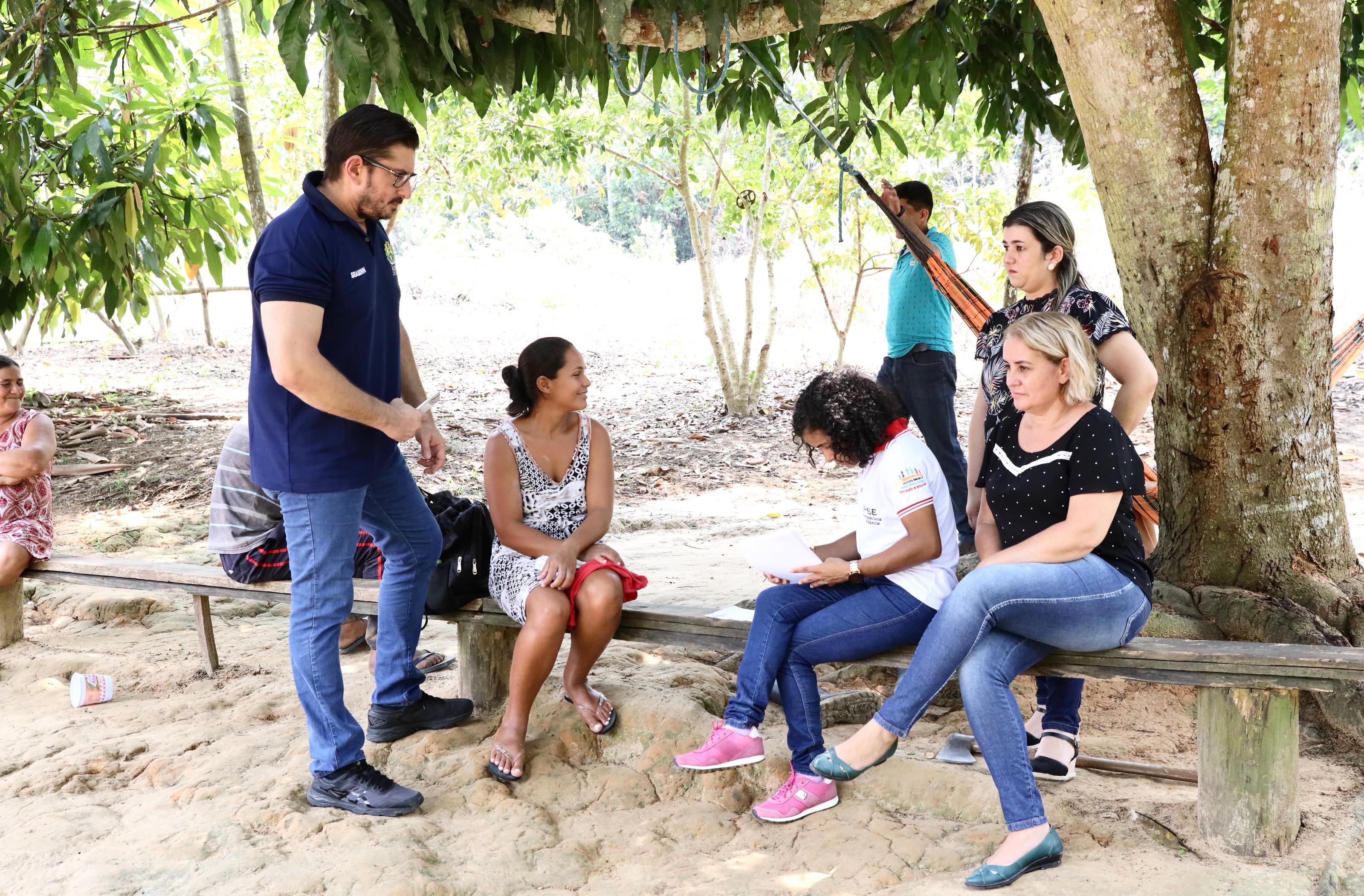 Secretaria de Assistência Social realiza monitoramento de incidência de trabalho infantil em Mâncio Lima