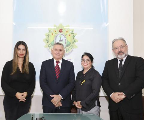 Governador em exercício, Francisco Djalma cumpre agenda em Senador Guiomard
