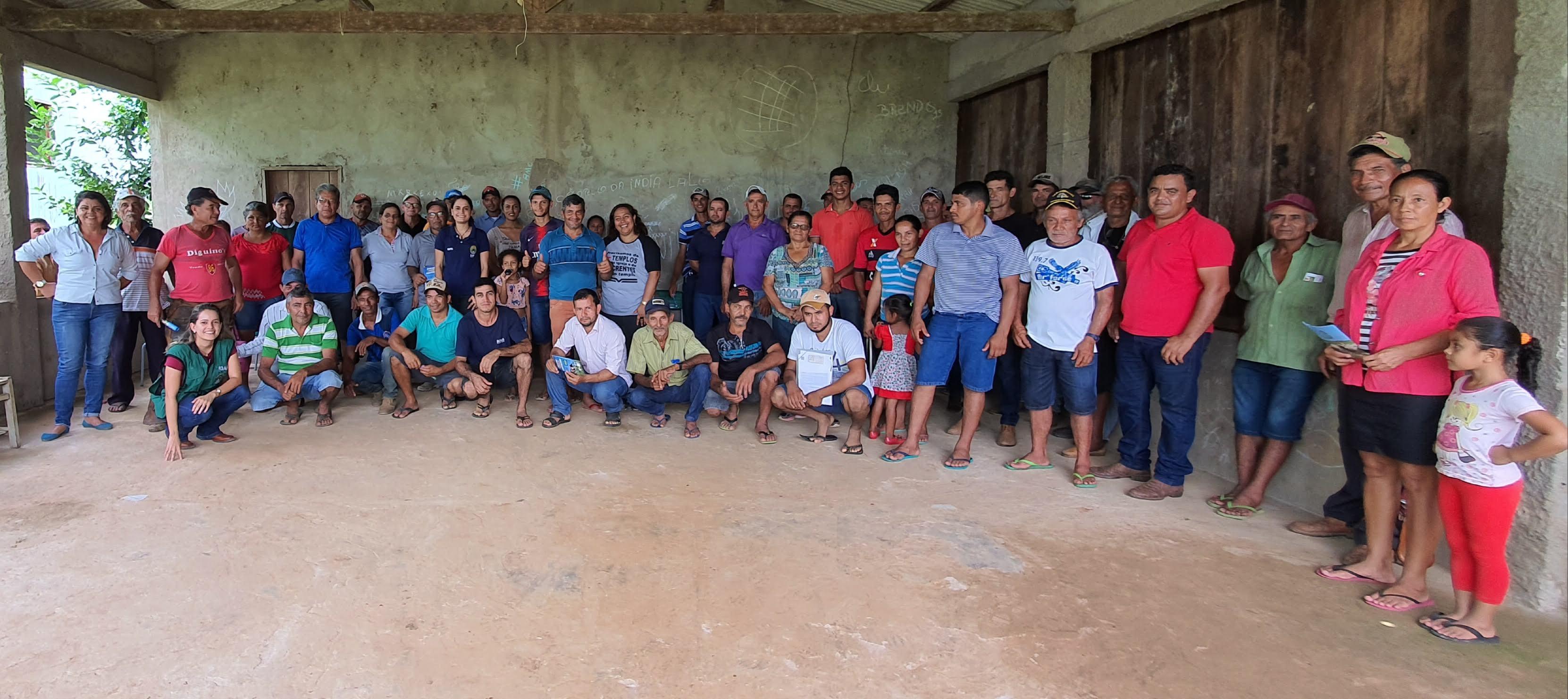 Políticas de regularização fundiária e inspeção animal chegam ao assentamento Tupá, em Xapuri