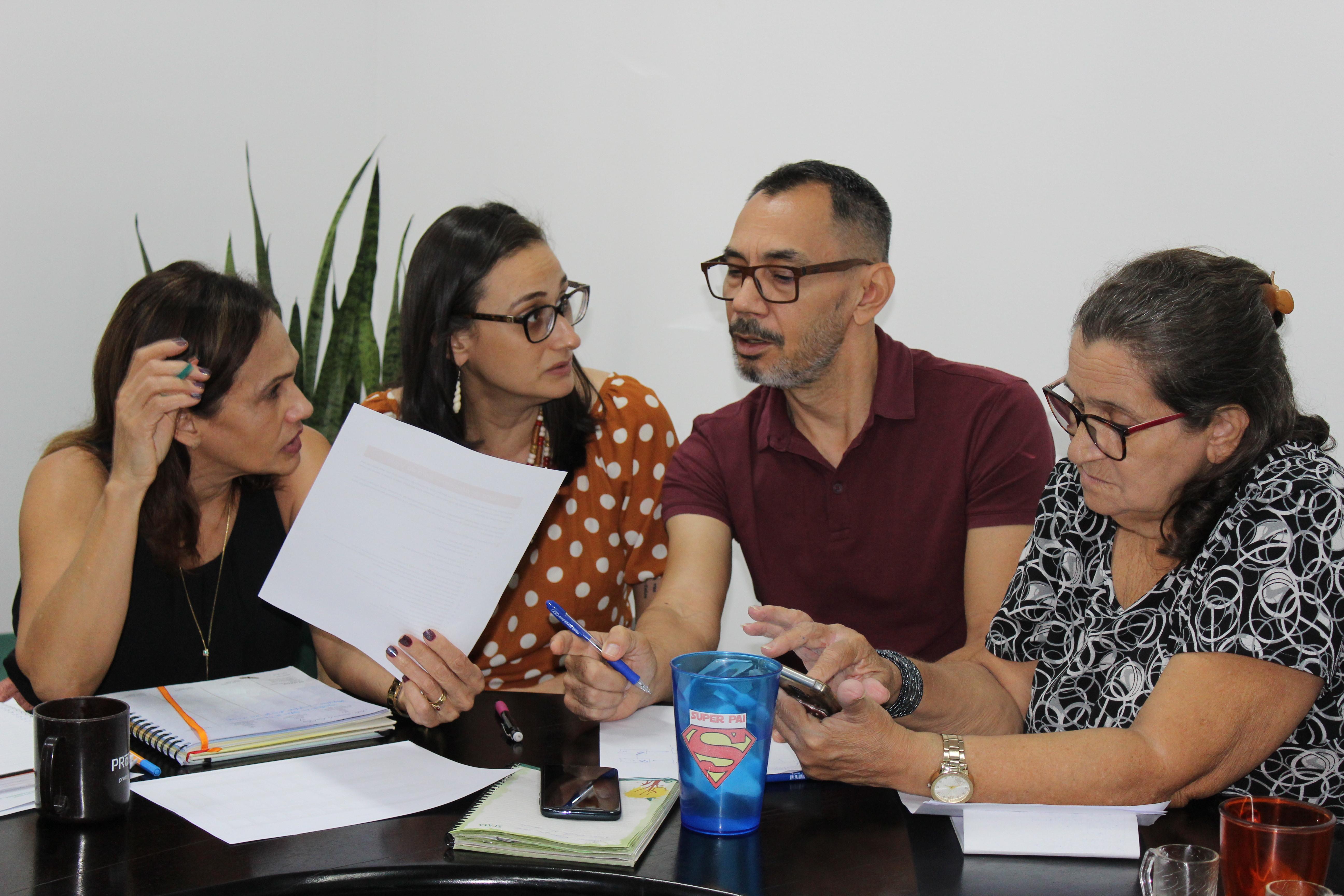 Equipe da Sema participa de oficina para dar celeridade aos processos