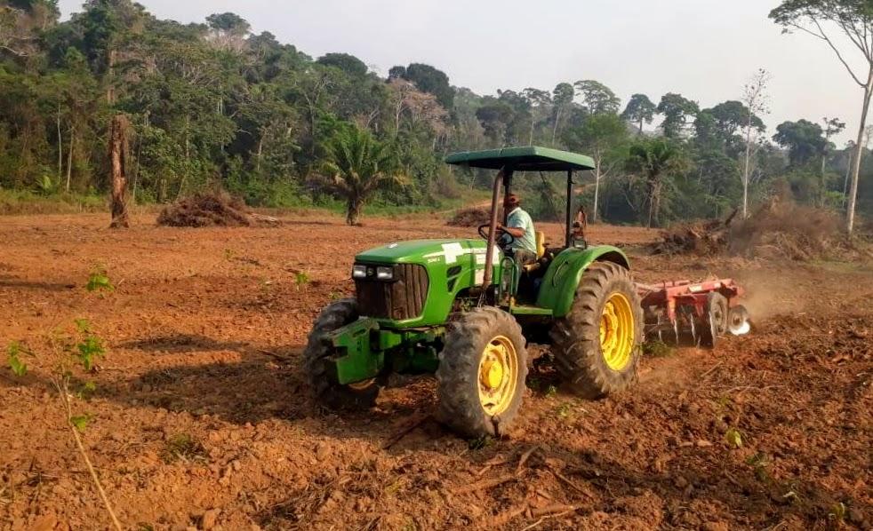 Uma nova era do Funagro leva mecanização agrícola aos pequenos produtores do Acre