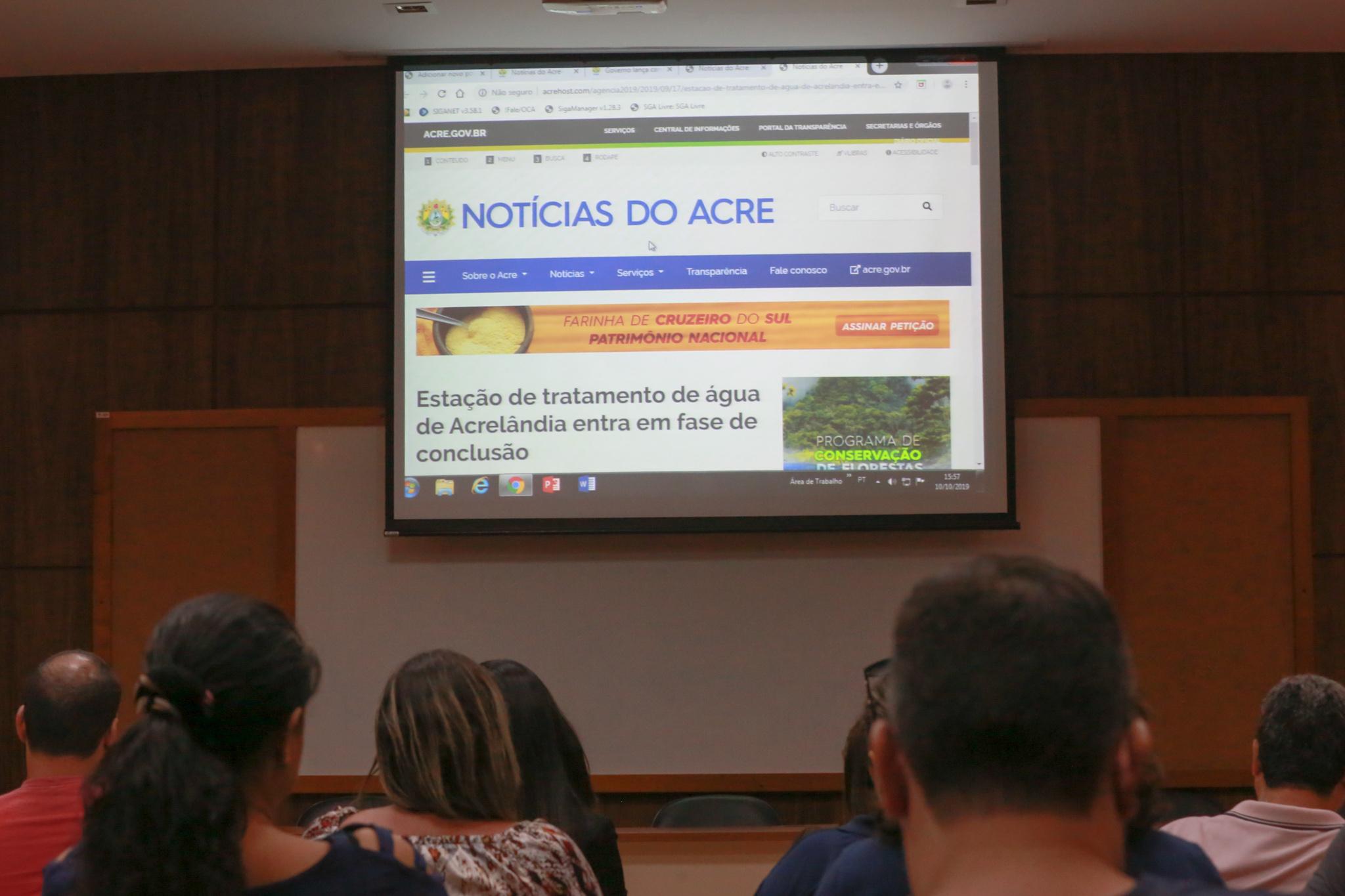 Comunicação do Estado lança novo site da Agência de Notícias nesta segunda-feira