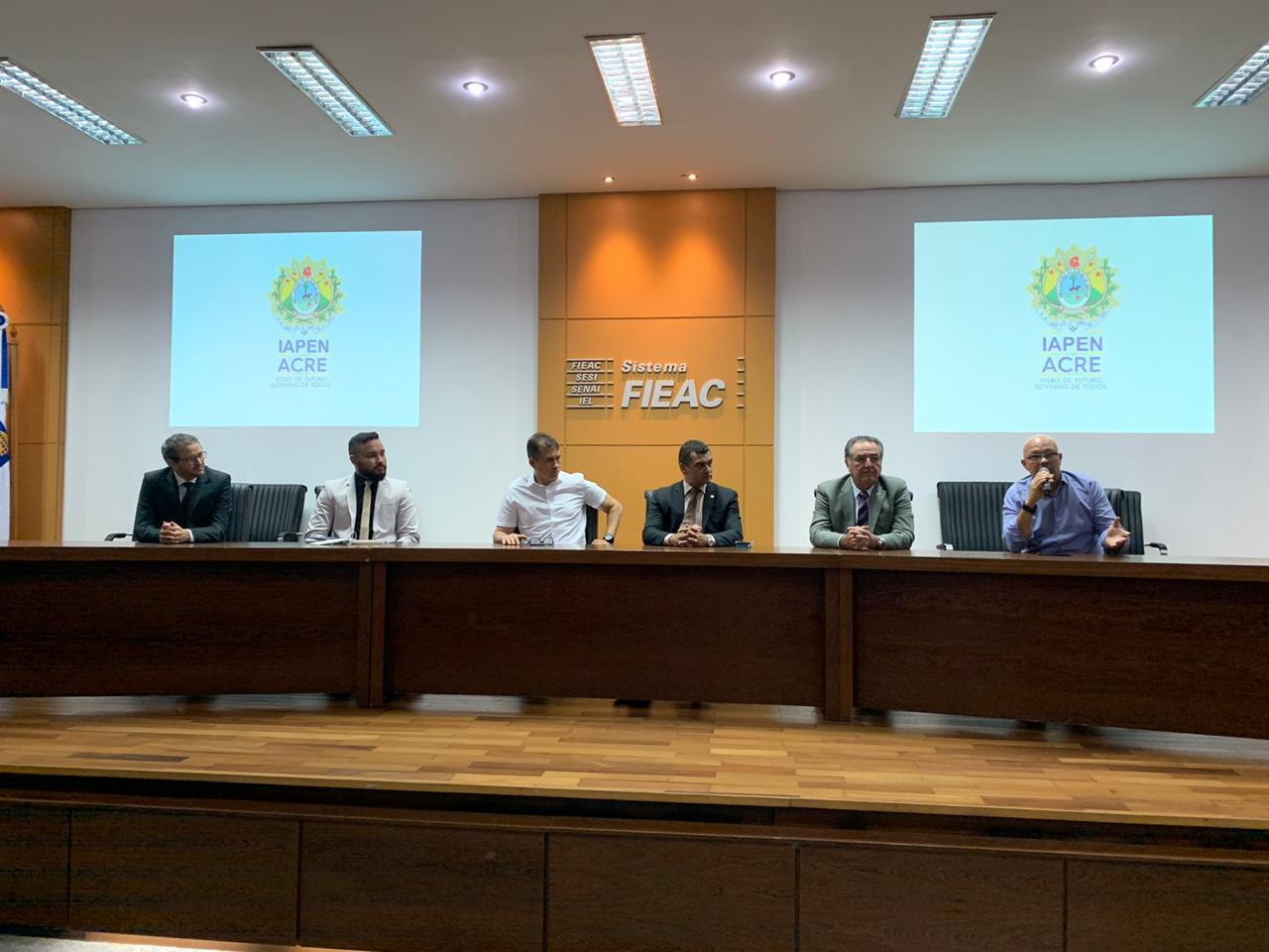 Governo apresenta Lei de Atividade Laboral no âmbito do Sistema Penitenciário Acreano