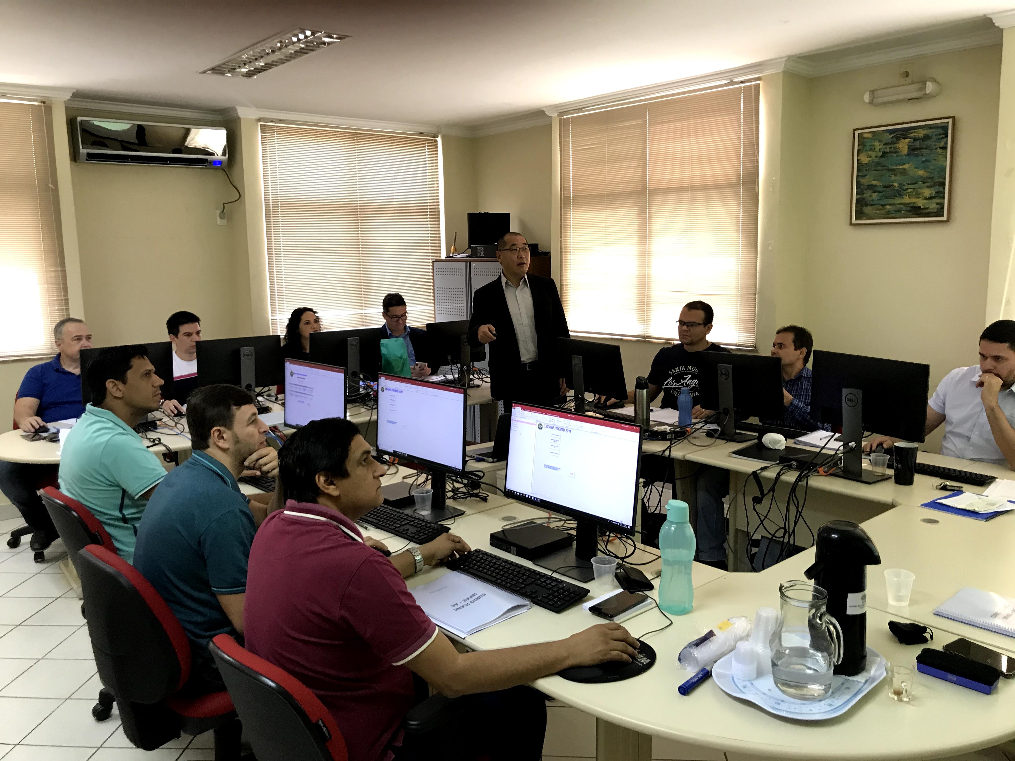 Auditores fiscais do Estado participam de capacitação em software de monitoramento de combustíveis