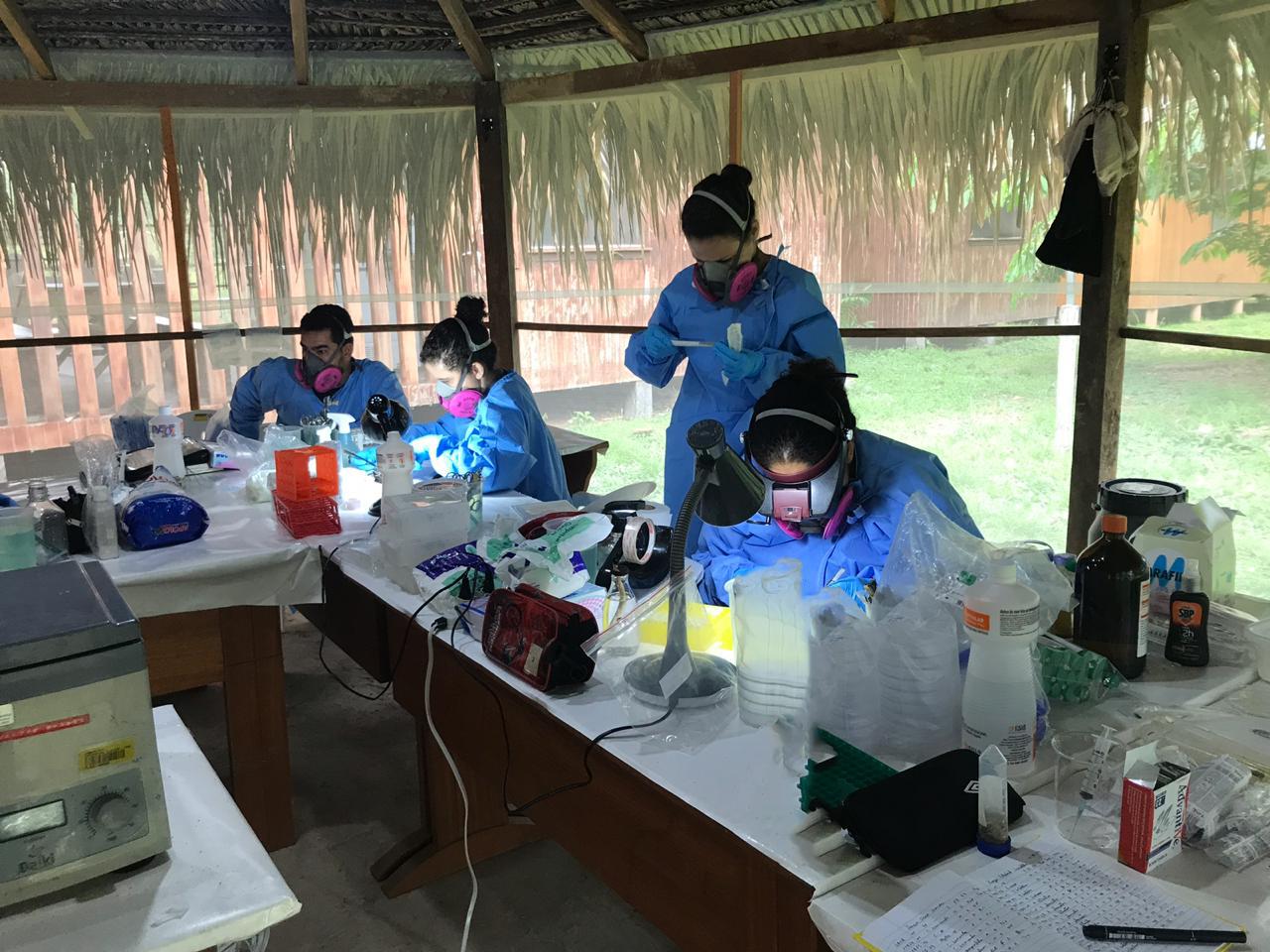 Chandless recebe pesquisadores da Fiocruz para estudar doenças em pequenos mamíferos