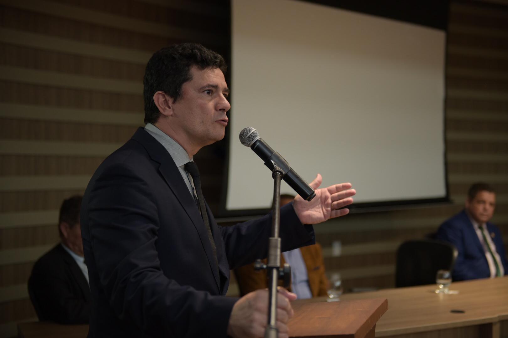 Com a presença do ministro Sérgio Moro, governo inicia Curso de Unidades Especializadas de Fronteira