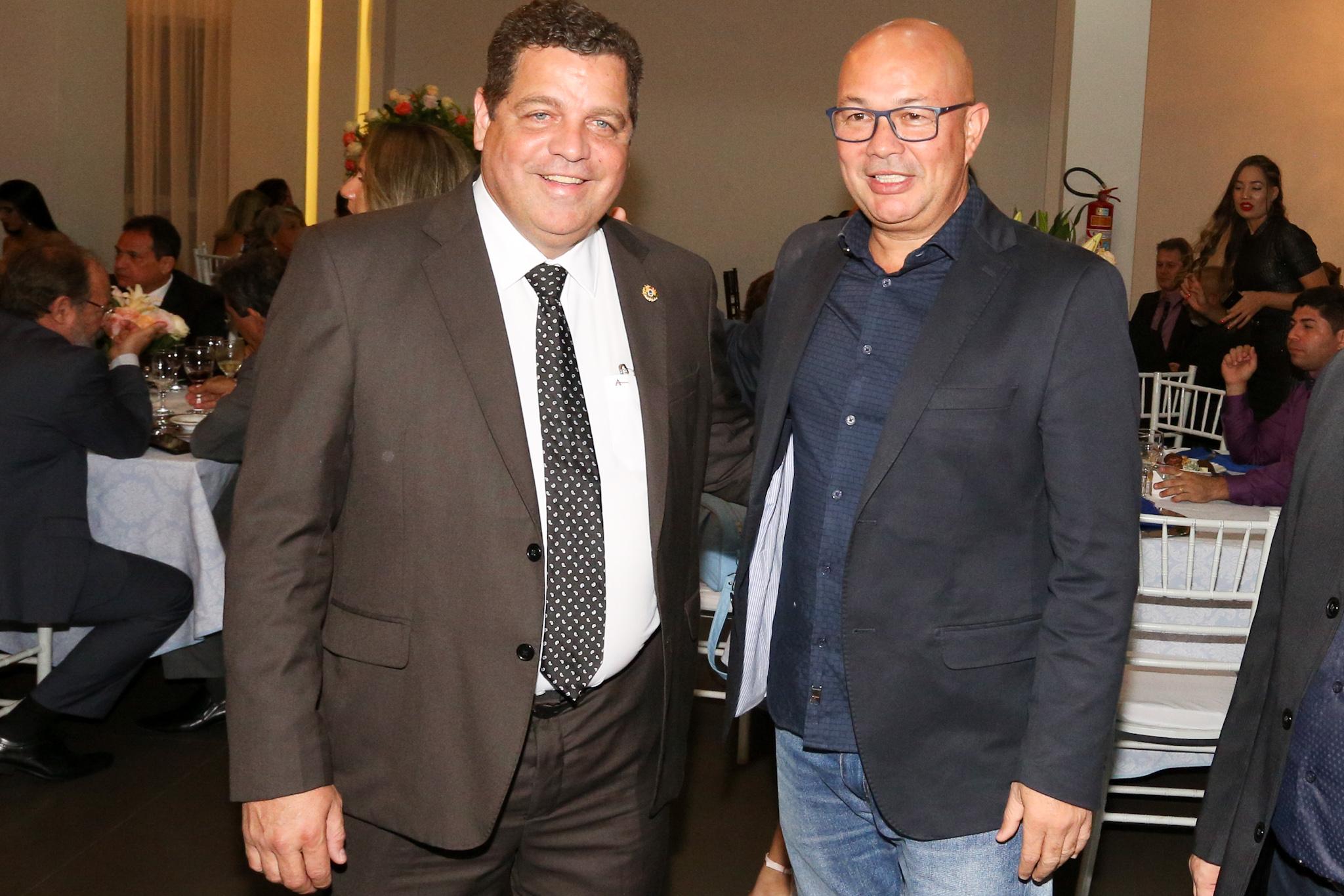 Major Rocha prestigia posse da nova diretoria da Federação das Indústrias