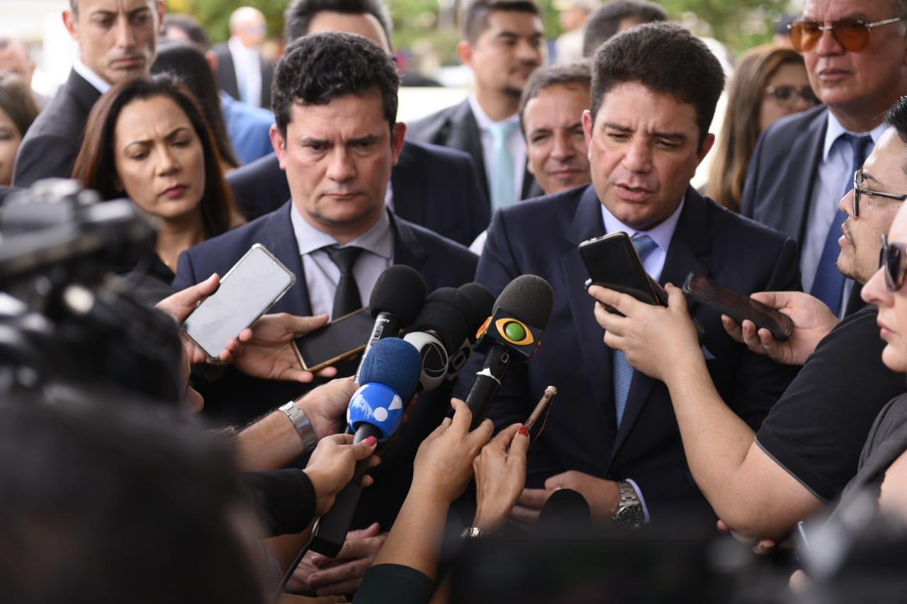 Segurança na fronteira é o principal assunto discutido por Sérgio Moro em visita ao Acre
