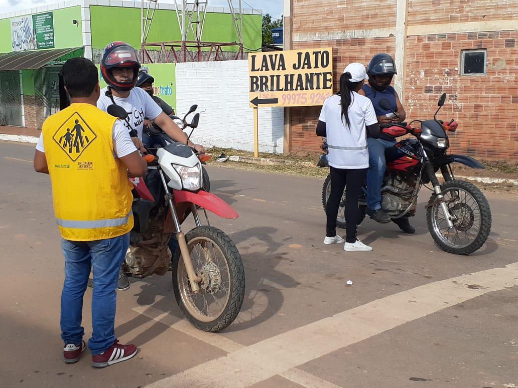 Detran leva educação de trânsito ao município de Sena Madureira
