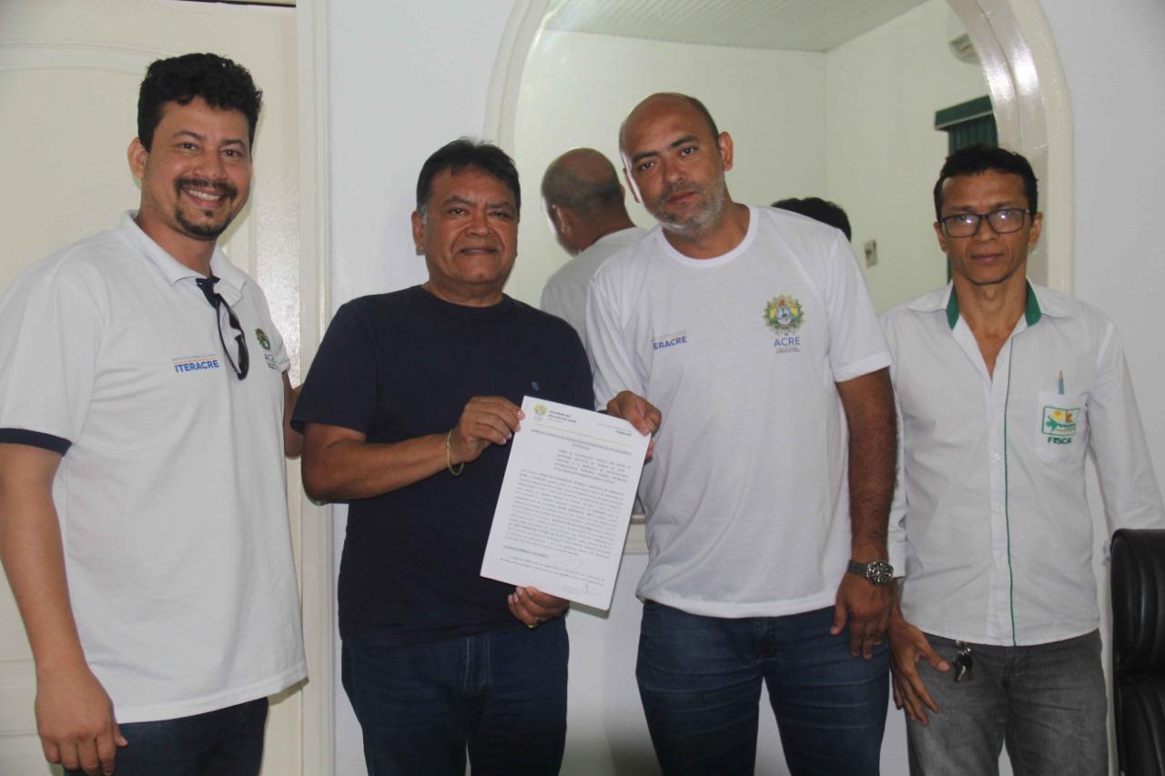 Iteracre realiza parcerias no Alto Acre para avançar na regularização fundiária
