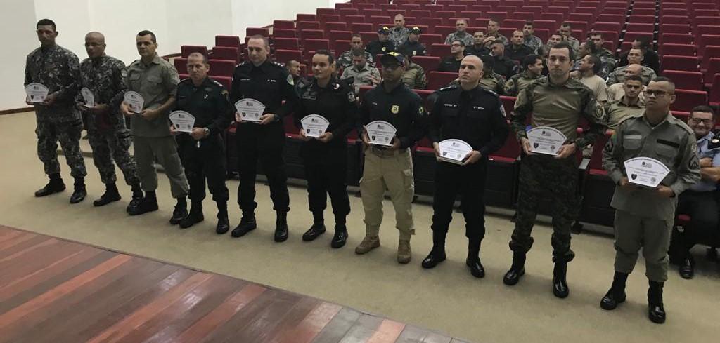 Profissionais do Gefron concluem curso de Unidades Especializadas em Fronteira