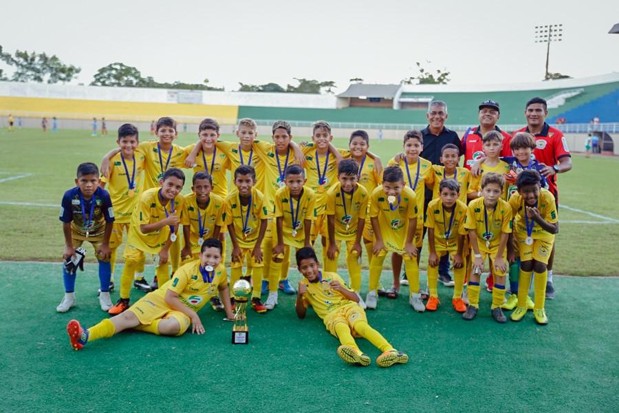 Galvez goleia o Atlético e conquista o título do Sub-11