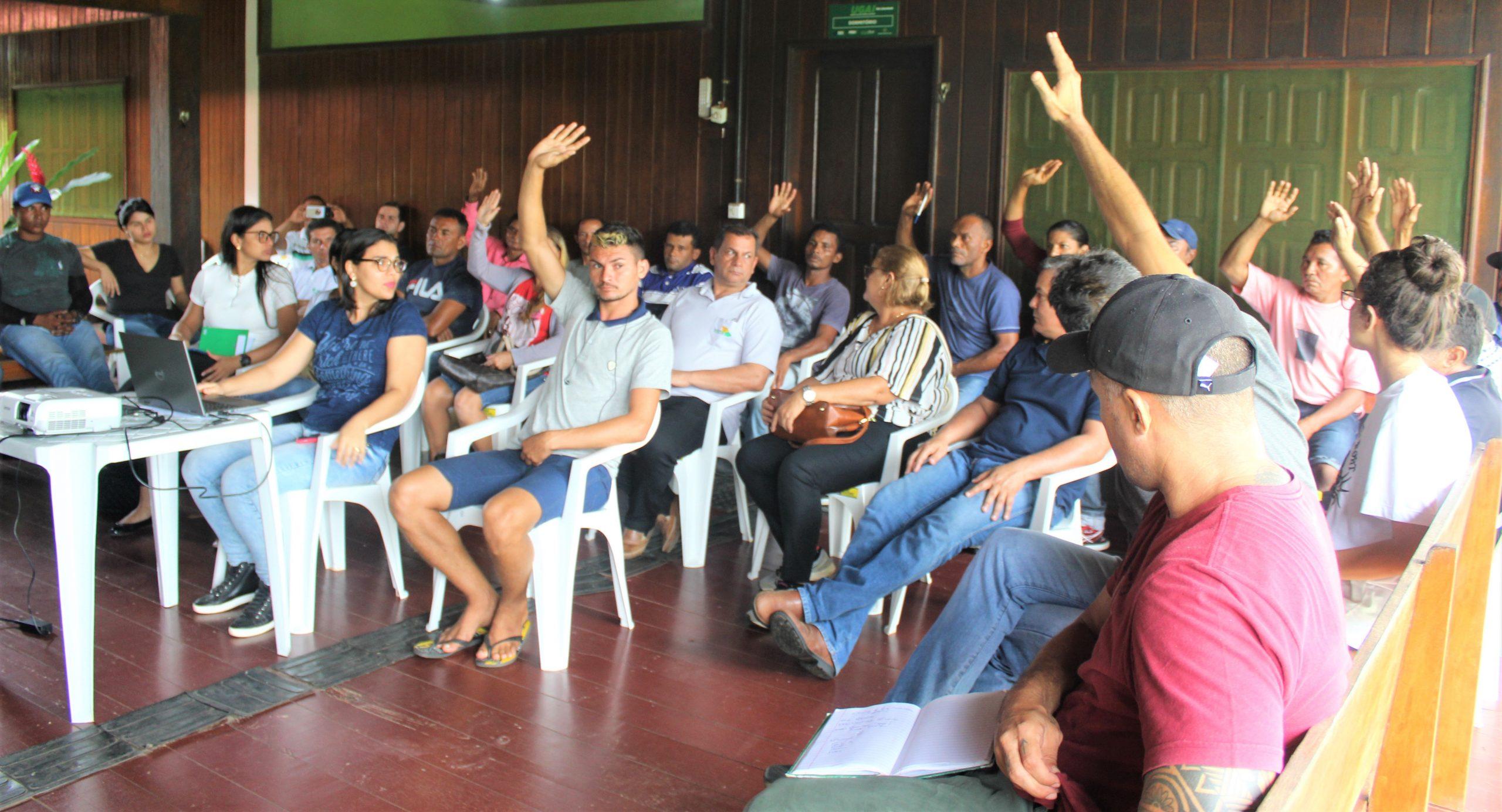 Meio Ambiente dá posse a conselho e realiza trabalho integrado no Complexo de Florestas do Rio Gregório
