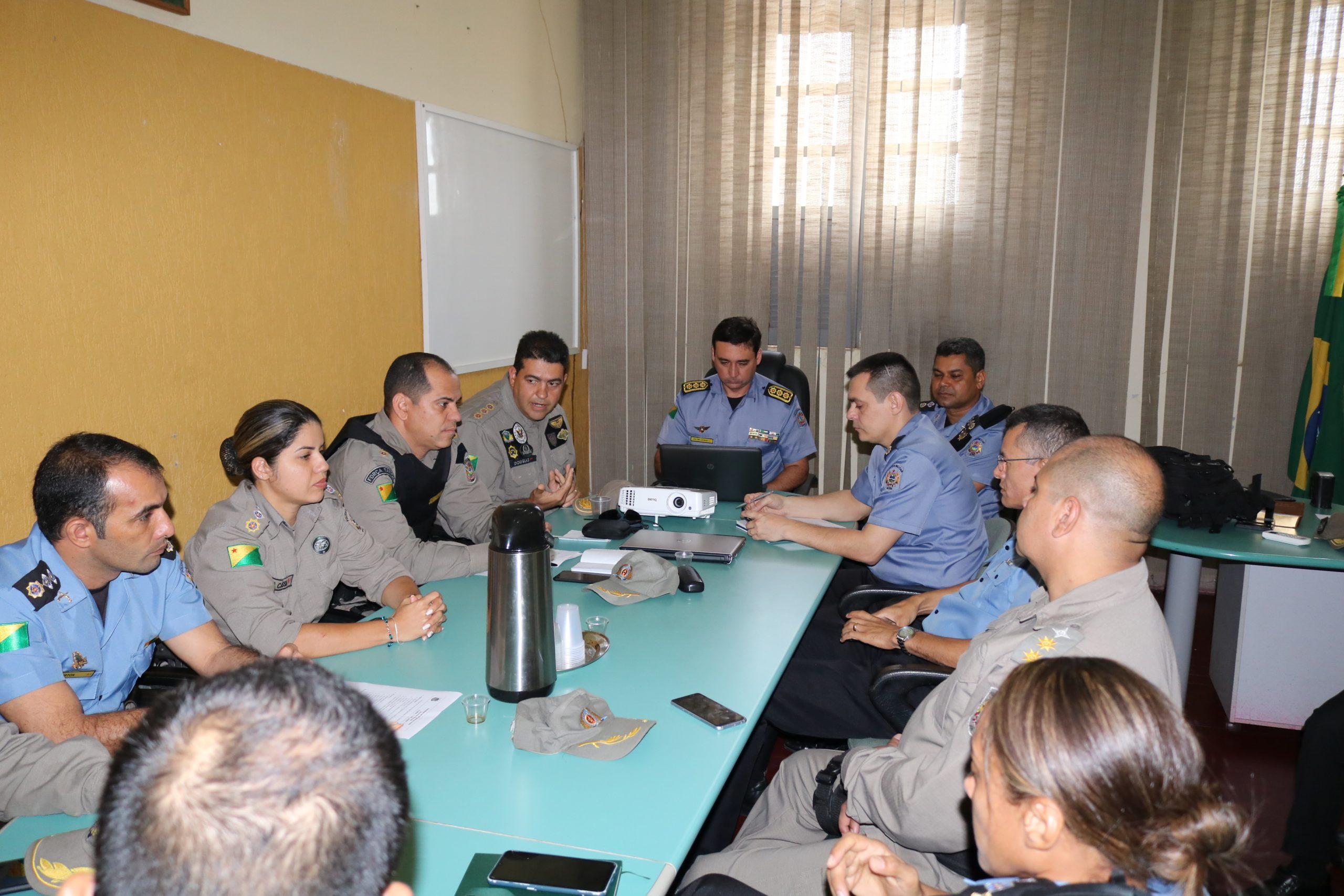 Em reunião estratégica, Polícia Militar faz últimos ajustes para o carnaval