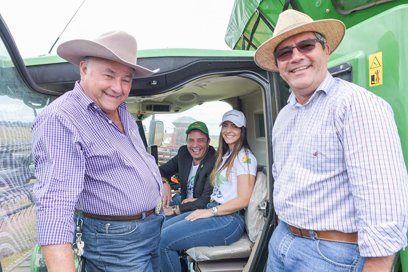 Gladson abre colheita da soja 2020 e afirma que agronegócio já é realidade no Acre