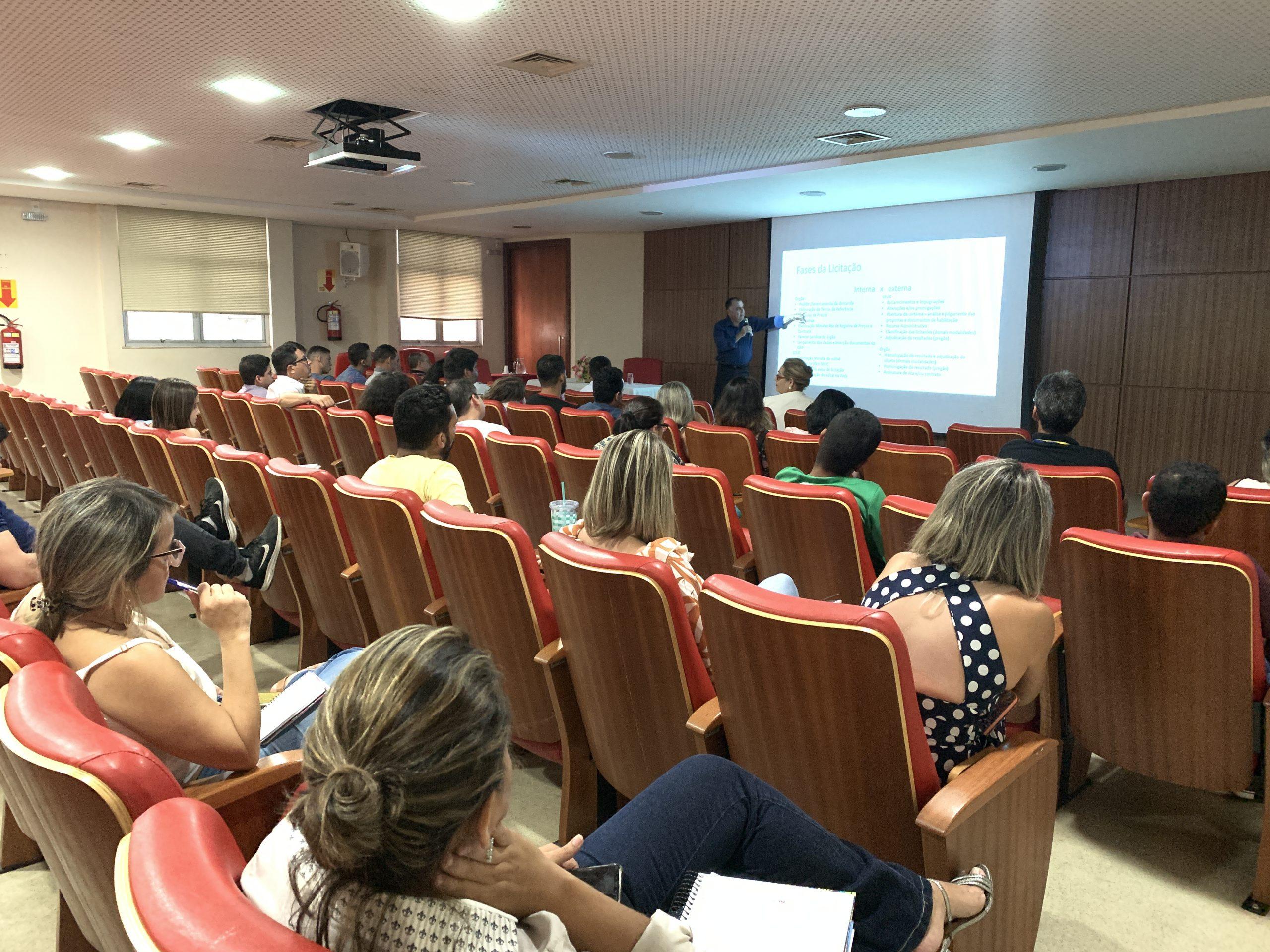 Servidores da Sefaz participam de capacitação sobre licitação