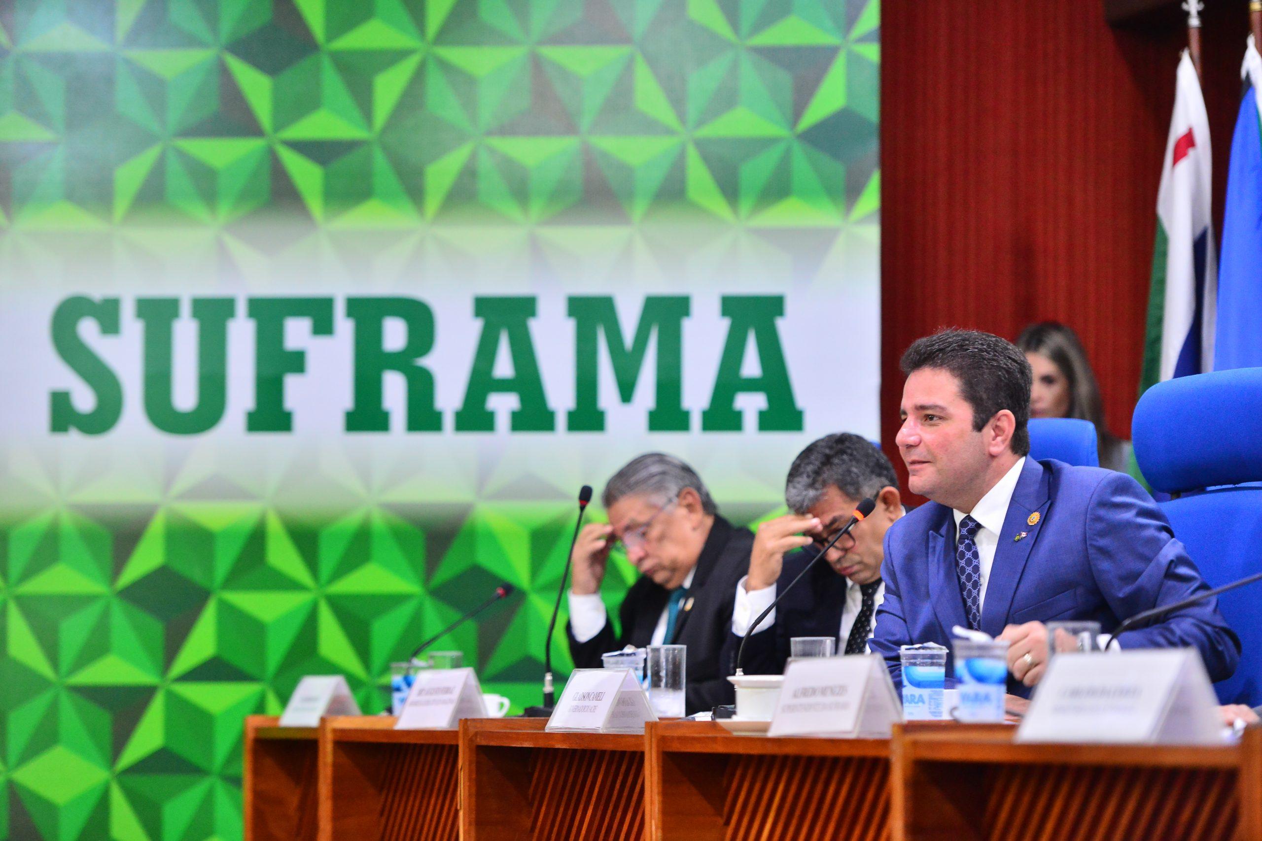 Em reunião da Suframa, Gladson defende continuidade das Áreas de Livre Comércio e investimentos para o Acre
