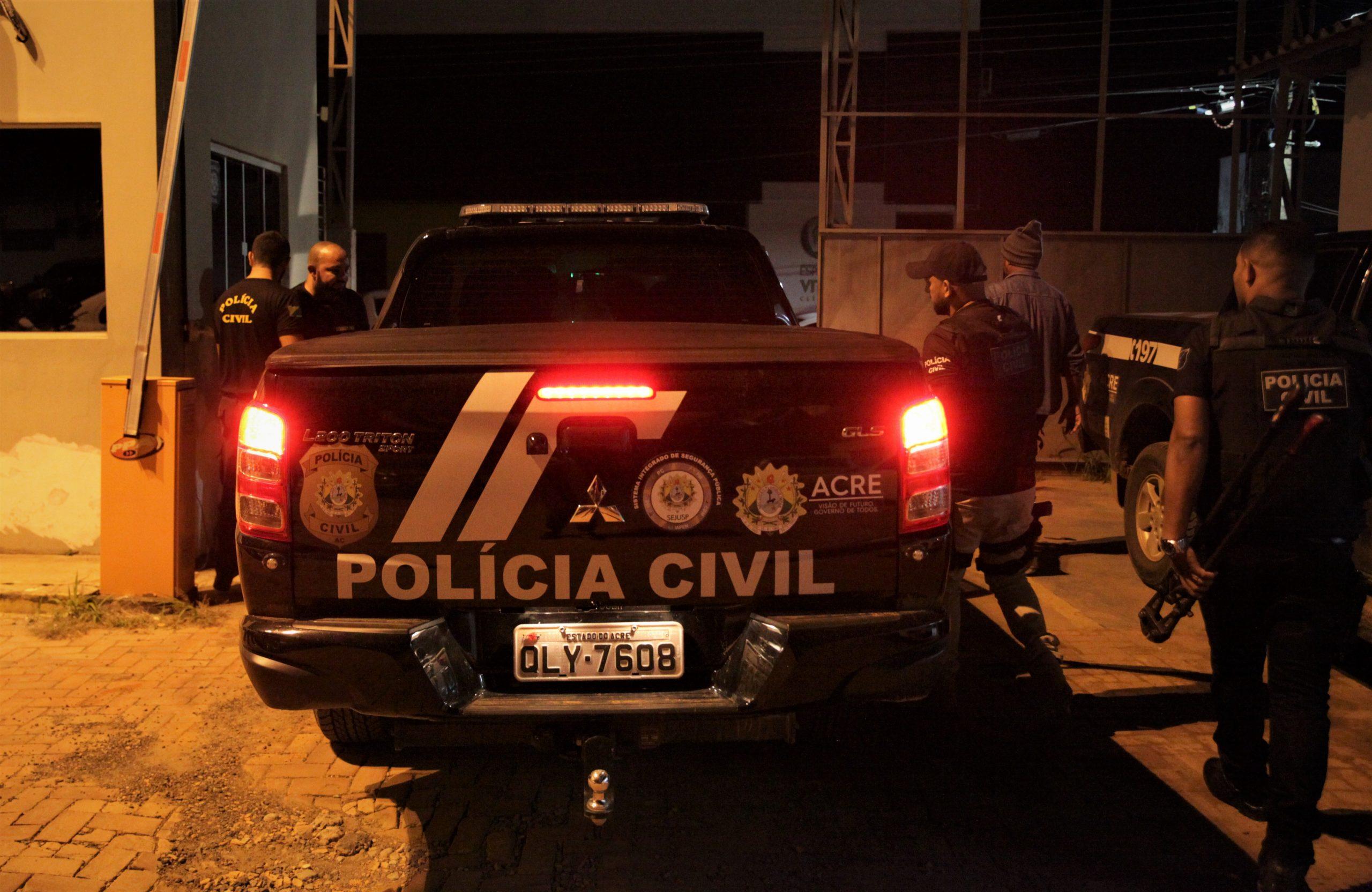 Polícia Civil do Acre prende mais de 165 membros de organização criminosa em 6 meses
