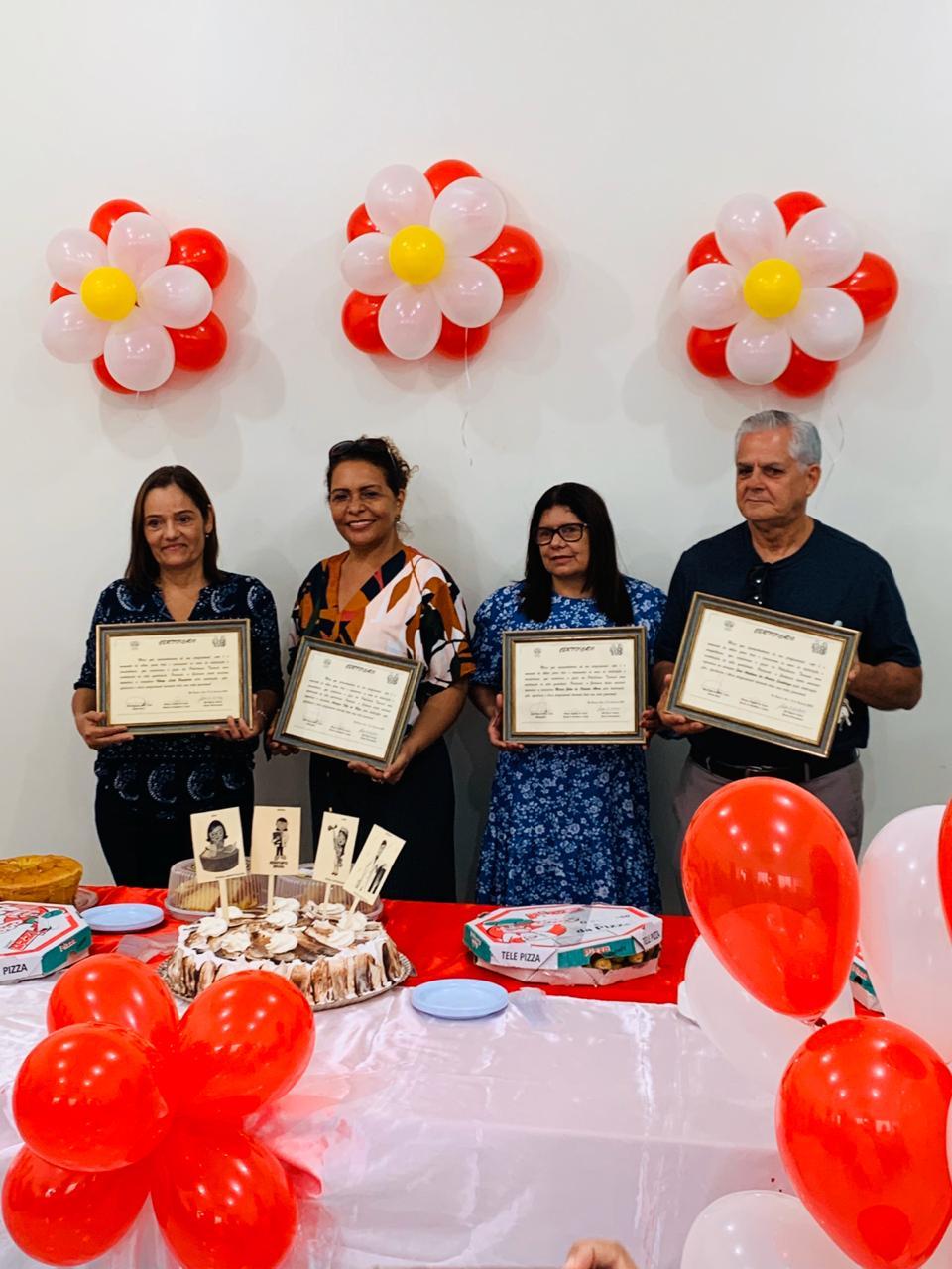 Servidores aposentados da Policlínica do Tucumã são homenageados