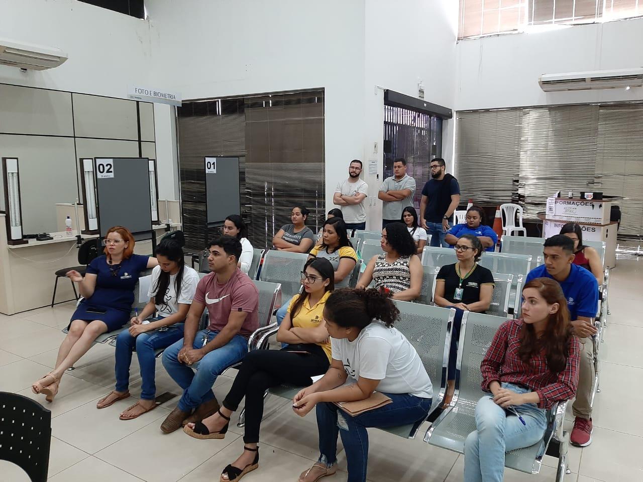Atendentes do Detran participam de capacitação sobre procurações e testamentos