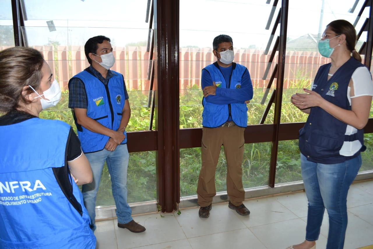 Into passa por adequação para expandir atendimento a pacientes da Covid-19