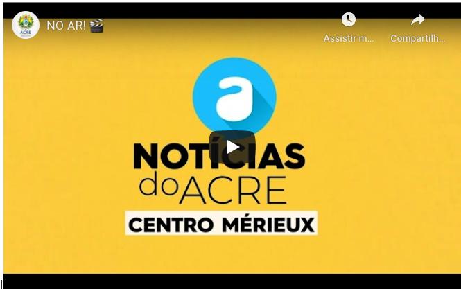 Notícias do Acre – Centro Mérieux