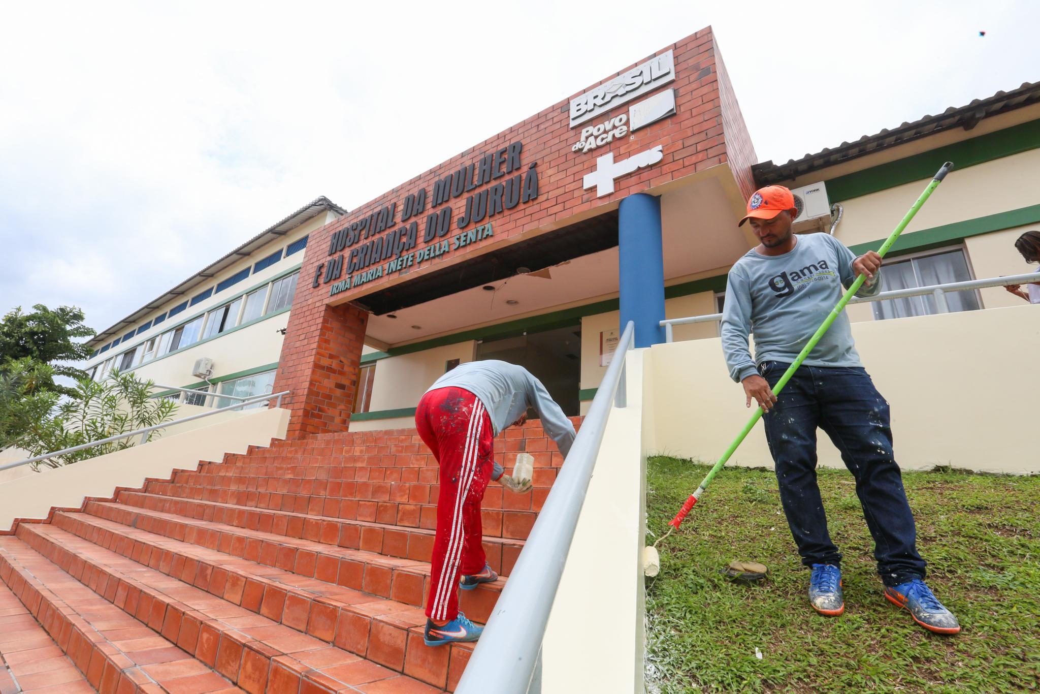 Mesmo em reforma, Maternidade de Cruzeiro do Sul avança com cirurgias eletivas