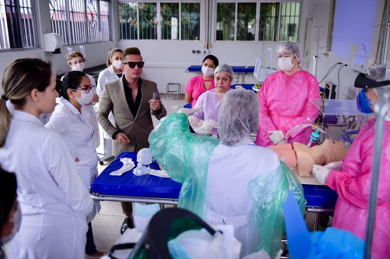 Pronto-Socorro instala Sala Vermelha para emergência a casos graves de Covid-19