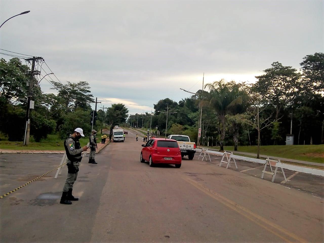 Batalhão de Trânsito da PM e demais órgãos fiscalizadores iniciam ações para evitar aglomerações