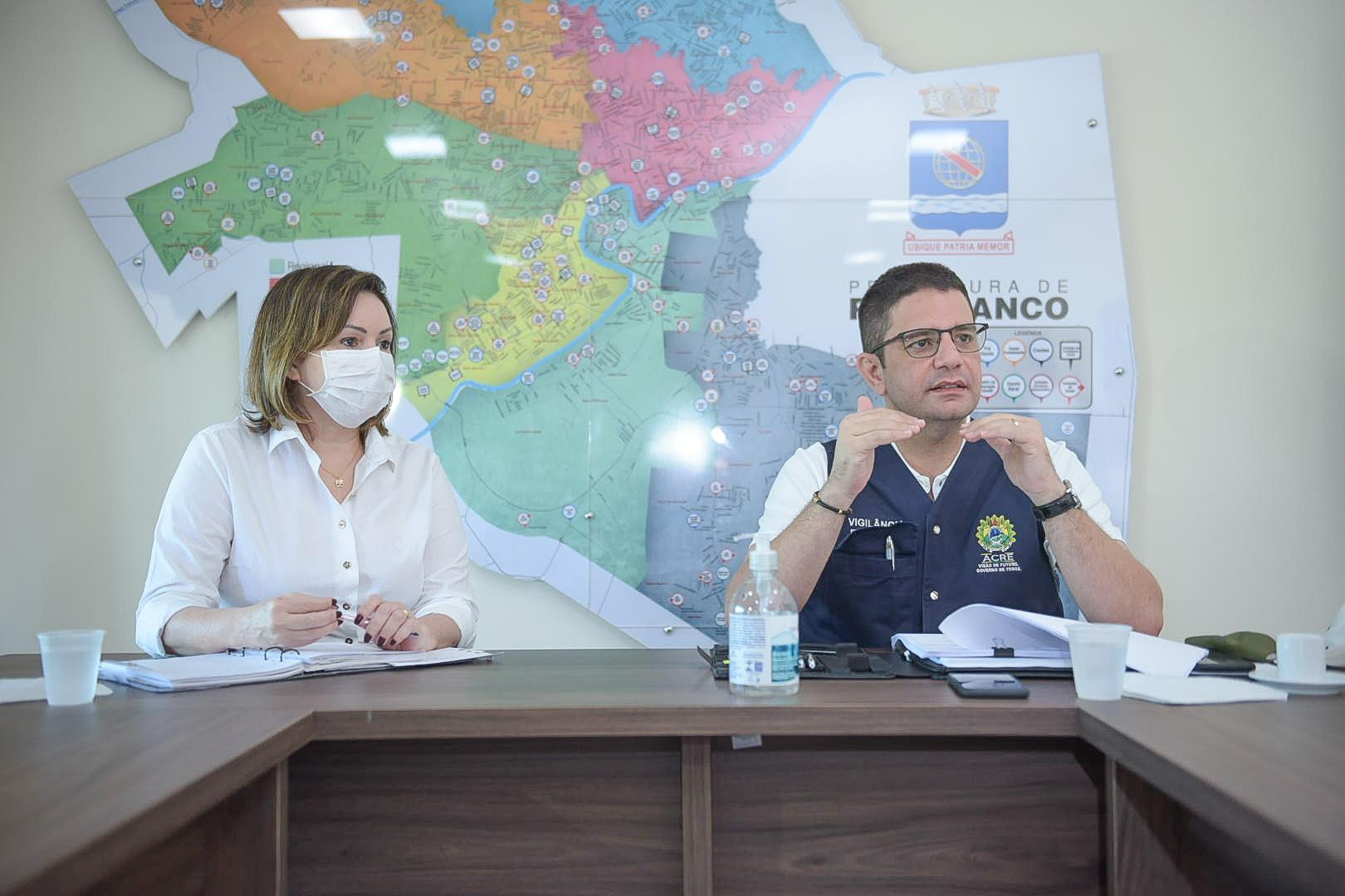 Governo lança operação Força Máxima com a prefeitura de Rio Branco e anuncia editais de obras pós-coronavírus